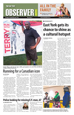 The East York Observer print edition archives