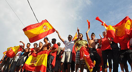 Toronto celebrates Spain's World Cup win | The Toronto Observer