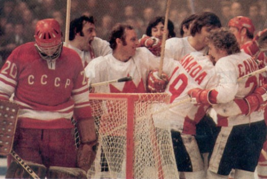 New Brunswick resident David Cadogan was among the 3,000 Canadians witnessing Paul Henderson's game-winning goal live from Moscow in 1972.
