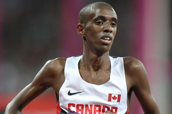Mohammed Ahmed will continue to represent Canada, hopefully atop the podium in 2016