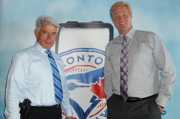 Buck Martinez (left) and Pat Tabler (right) have developed a great rapport with each other since becoming the voice of Toronto Blue Jays baseball in 2010.