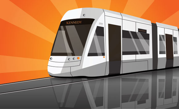 The Eglinton-Scarborough track is one of the four new LRT planned. Construction for this track is expected to be fully underway this fall.