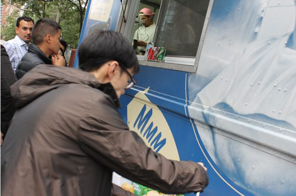 City Council is expected to debate relaxing the regulations governing where Toronto's food truck operators can set up shop.