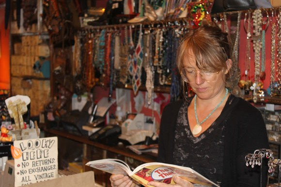 Courage My Love part owner Cece Scriver believes that fashion is a way to tell history.