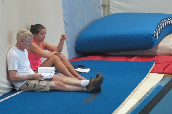 Dave Ross sits down with Mariah Madigan at the beginning of the competitive season at Skyriders Trampoline Place.
