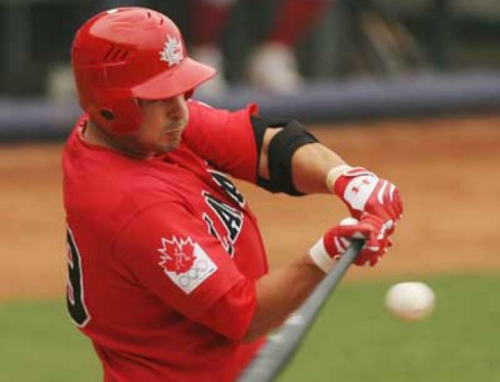 Richmond, B.C native Jimmy Van Ostrand finishes the WBC qualifier tournament in Regensurg, Germany with four home runs and 10 RBI.