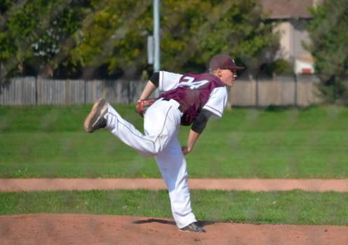 Marauders pitcher and cancer survivor Kyle Angelow will be bringing BaseBald to Bernie Arbour Stadium this Sunday.