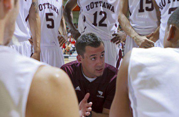 Coach James Derouin prepares for the upcoming OUA season