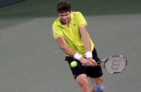 Canadian ATP player Milos Raonic.