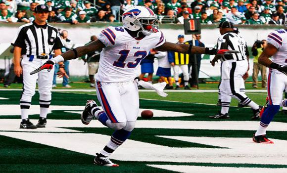 Stevie Johnson has had some success against the New York Jets in his career and will be looking to do so again in week one at MetLife Stadium