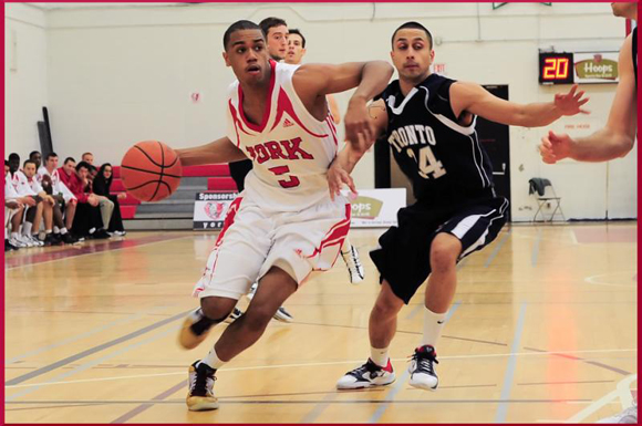Jordon Campbell, here working past a U. of T. defender in 2010, returns from a bad ankle injury to boost the Lions' backcourt.