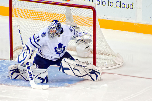 James Reimer, struggled last season with concussion symptoms.