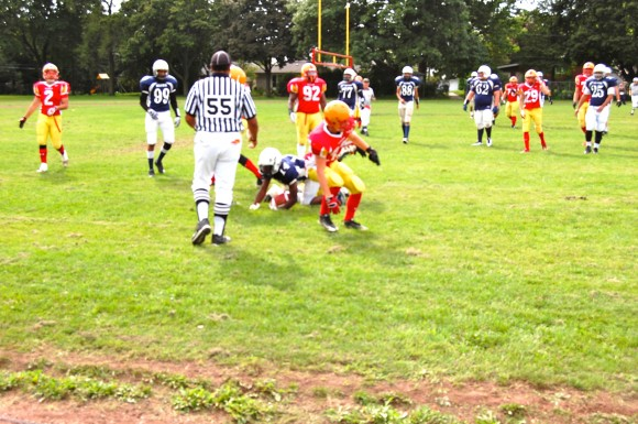 In the season opener, Richview defeated Central Tech 7-3 in a game where defence prevailed.