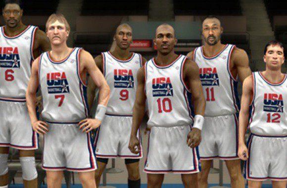 The 1992 Dream Team makes an appearance in NBA 2k13