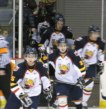 Barrie Colts take the ice