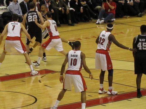 Raptors on the defensive end