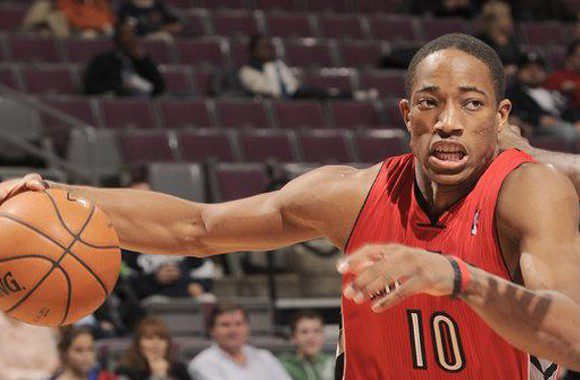 DeMar DeRozan led the Raptors with 17 points in the 101-99 loss