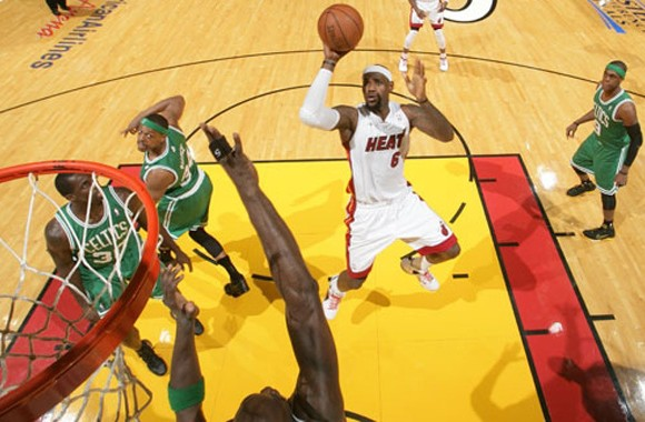 LeBron James and the Heat open the season against Boston