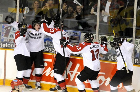 Team OHL is looking for a 10th straight sweep over the Russians in the annual series