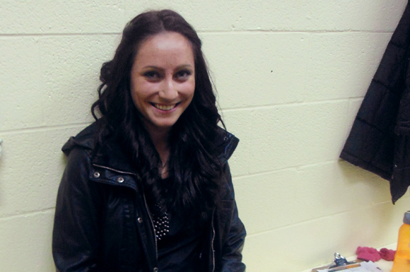 Vanessa Crone smiles after coaching at the North Toronto Skating Club.