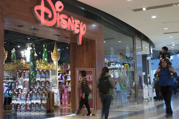Scarborough Town Centre reopened Disney Store in late October. The shopping centre said it would boost its overall holiday season sales.