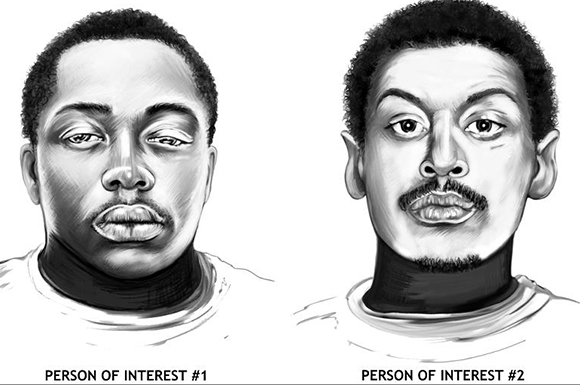Toronto Police have released sketches of two men believe to be involved in last summer's Danzig Street shooting.