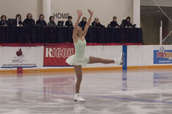 Barnett eyes sectionals as a skating stepping stone | The Toronto