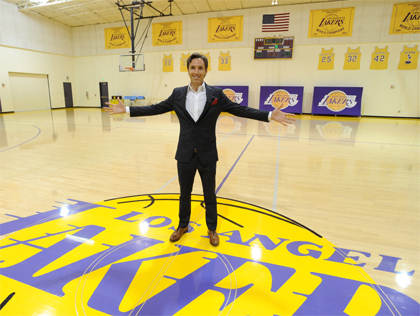 Steve Nash embraces the culture of Lakers basketball