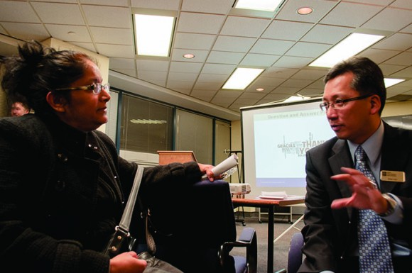 On Nov. 20, RBC Dominion Securities Toronto East branch invited Scarborough youth and their parents to a seminar on student saving and investment.