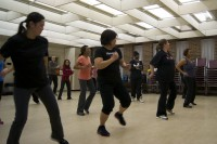 Participants dance their way to raise awareness