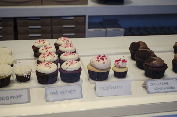 The regular cupcakes sold at so into cupcakes.