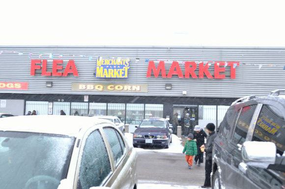 Merchants' Flea Market at Eglinton and Warden Avenues is celebrating 25 years in business this year.