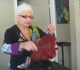 Gaye Boucher, owner of Mar-Ville Salon, saw city inspections coming.