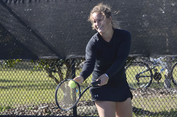 New Zealander Kate Parker is in her junior year at the University of South Florida in Dunedin.