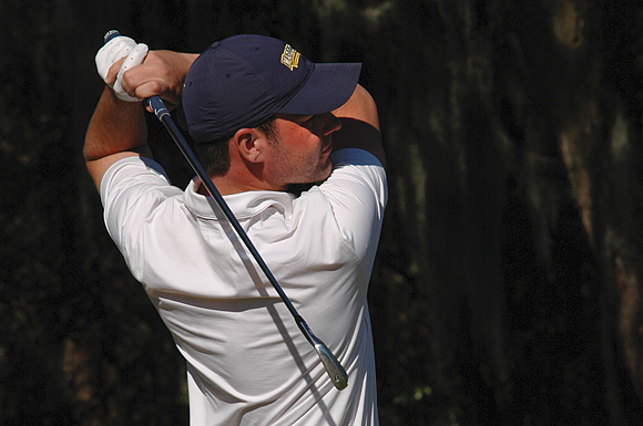 Britain's Adam Chester, who attends Marquette University in Milwaukee, Wis., on Monday shot an even par at the University of South Florida Invitational golf tournament Monday.