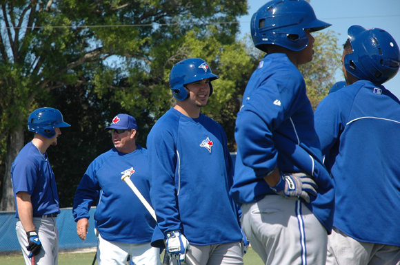 Toronto Blue Jays  hit the field at the Bobby Mattick Training Centre in Dunedin, Florida.