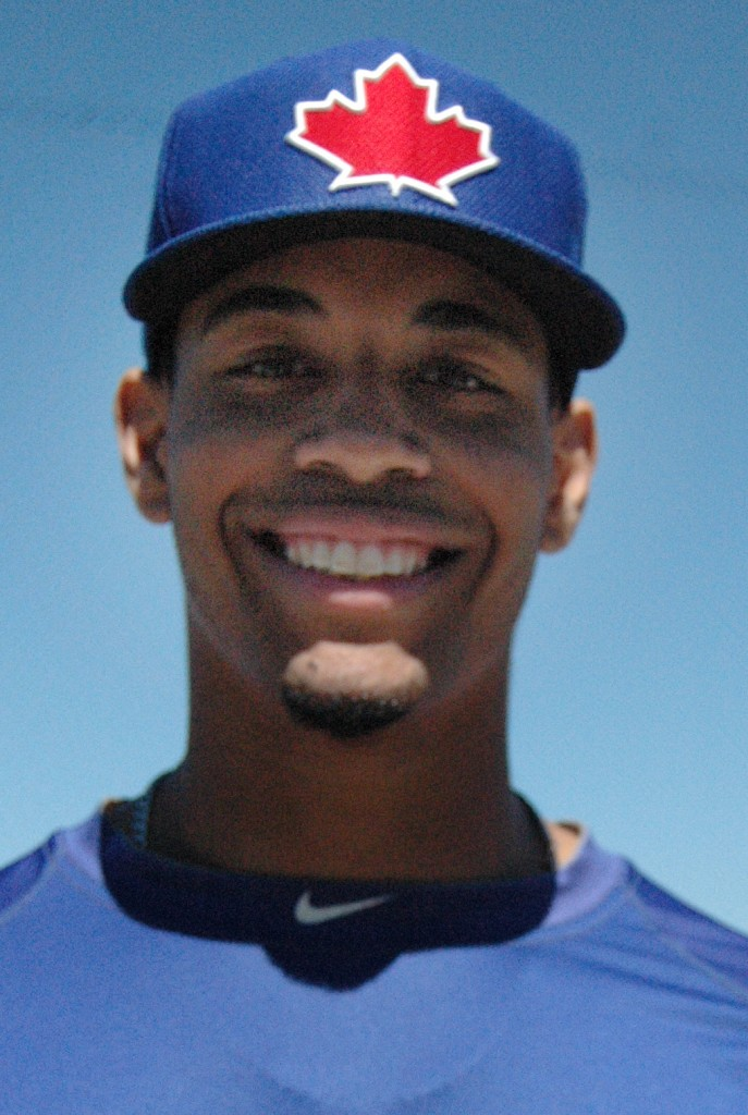 Mississauga's Dalton Pompey is ranked 16th overall among Toronto  Blue Jays' prospects going into 2013.