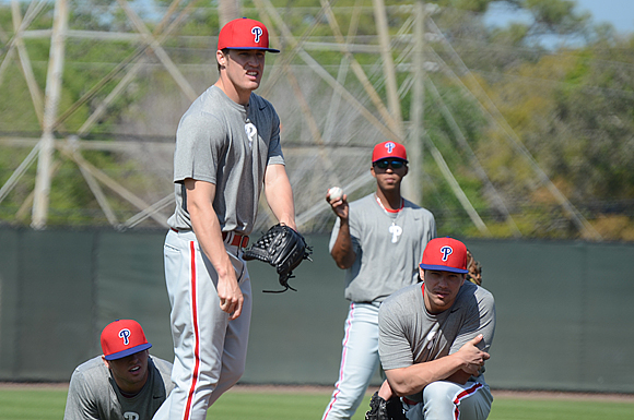 Rookie closer Kenny Giles is set to start his pro career with the Phillies Double-A Reading Fightin' Phils.