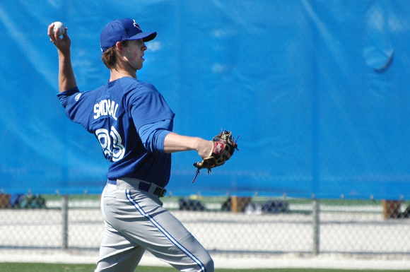 Ohio southpaw Matthew Smoral is ranked eighth overall among Toronto Blue Jays prospects.