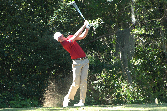 Florida State University's Daniel Berger tied for second place at the USF Invitational golf tournament in Dade City, Florida.