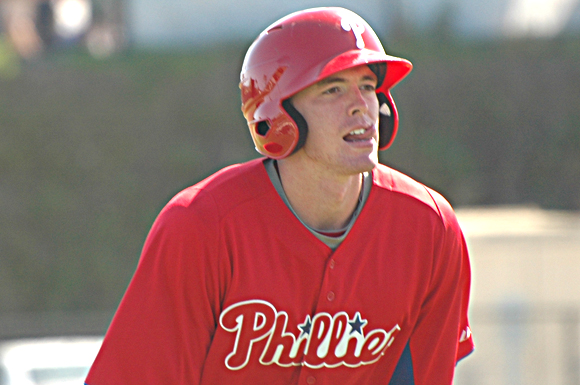 Phillie's prospect Zachary Green doesn't care where he ends up on the field, he just wants to play ball.