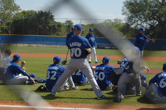 Pitching prospect Ian Kadish has been making a name for himself with two blue birds, Twitter and the Toronto Blue Jays.