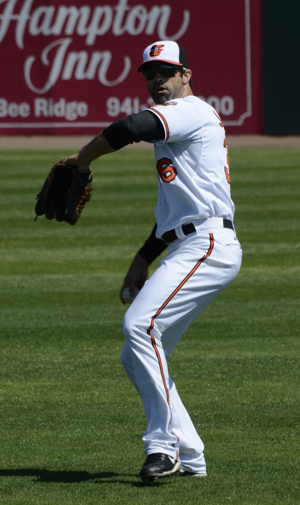Jackson is trying to make the Baltimore Orioles after receiving a non-roster invite to spring training.