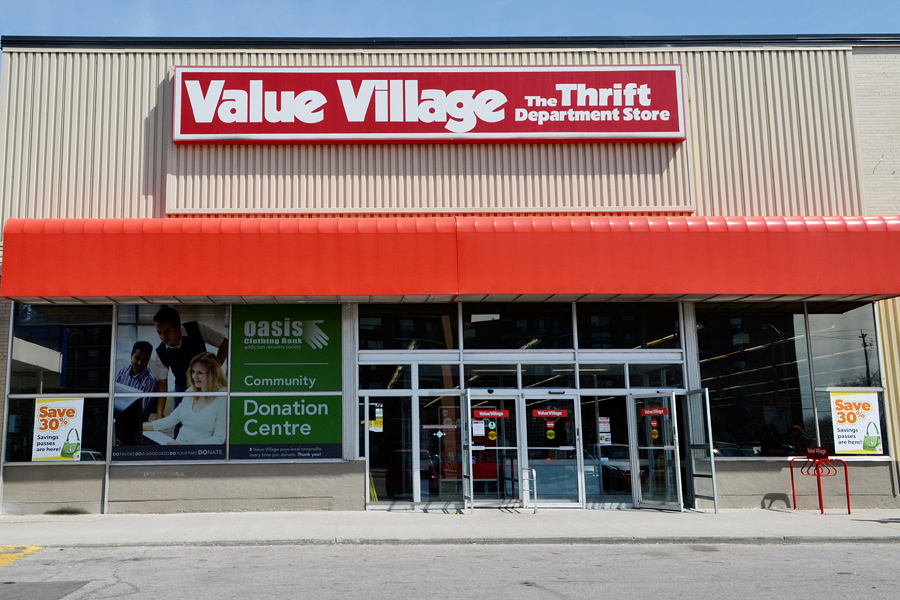Thrift stores like Value Village are sprawled throughout the GTA and have been a popular spot for the fashion-minded on a budget, March 31 2013.