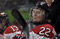 Team Canada saw the return of captain Hayley Wickenheiser