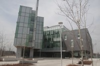 IC building at University of Toronto Scarborough where the finance lab is located