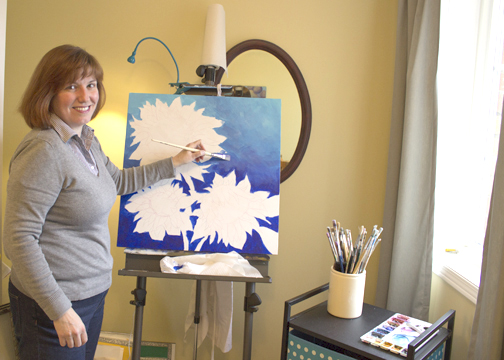Gillian Morris balances a full-time day job and love of art.