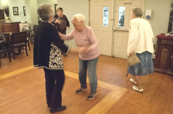 Residents of the Avondale Retirement Home were hopping over the Easter weekend thanks to night of music and golden oldies.