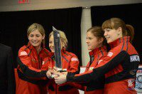 Eve Muirhead and her Scottish rink win the Players' Championship. Photo: Ryan Horne