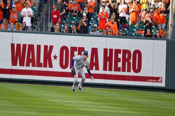 Toronto Blue Jays centre fielder Colby Rasmus, can walk away from this season feeling at least a little heroic.